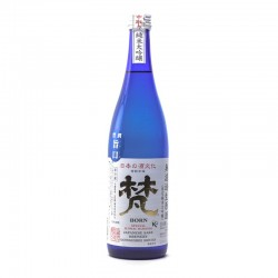 Bottle of Japanese sake Born Muroka format 72cl