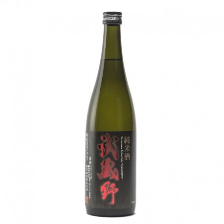 bottle of Japanese sake Musashino Junmaï format 72cl