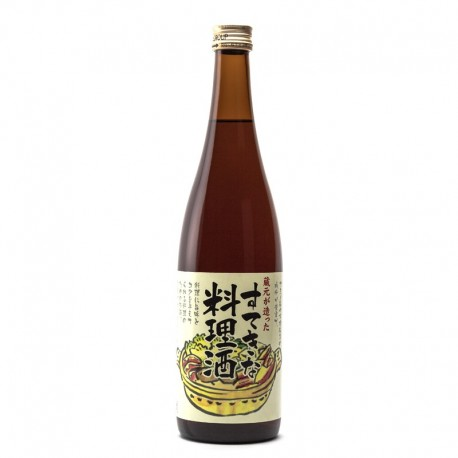 Bottle of japanese sake for cooking Ryorishu format 72cl
