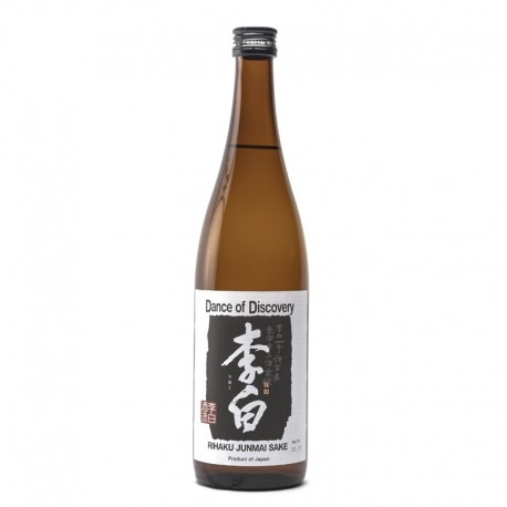 Bottle of japanese sake Rihaku Junmaï Format 72cl