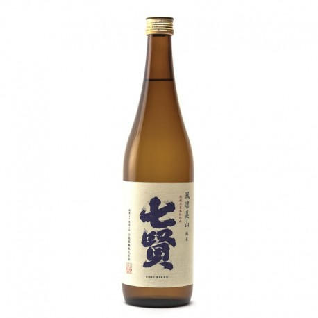 Bottle of Japanese sake, Shichiken Junmaï, format 72cl