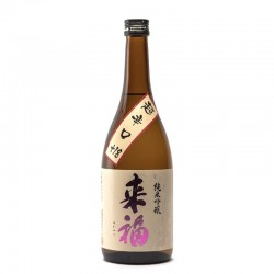 Bottle of Japanese sake, Raïfuku Chokarakuchi, format 72cl
