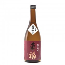 Bottle of Japanse sake, Raïfuku Aiyama, format 72cl