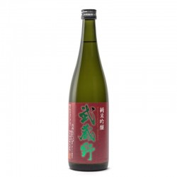 Bottle of Japanese sake Musashino Junmaï Ginjo format 72cl