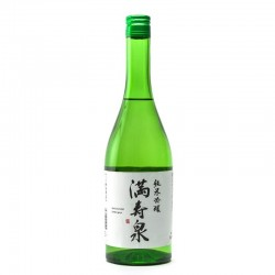 Bottle of Japanese sake Masuizumi Junmaï Ginjo format 72cl