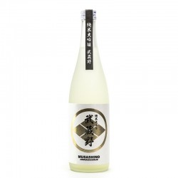 Bottle of japanese sake Musashino D4 White Junmaï Daïginjo format 72cl