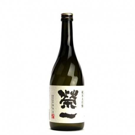 Bottle of Japanese sake Eiichi Daïginjo format 72cl