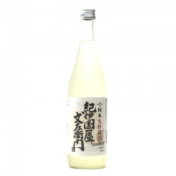 Bottle of Japanese sake Kinokuniya Namacho format 72cl