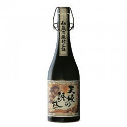 Bottle of Japanese shochu Tenshino Yuwaku format 70cl