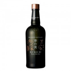 Bottle of Japanese gin KI NO BI Kyoto Dry Gin format 70cl