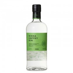 Bottle of NIKKA Coffey Gin, japanese gin, format 70cl