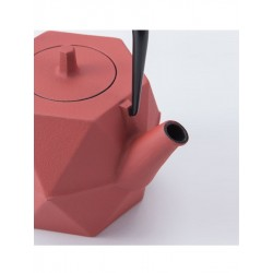 Zakuro Red Teapot