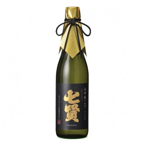Bottle of Japanese sake Shichiken Daïginjo format 72cl