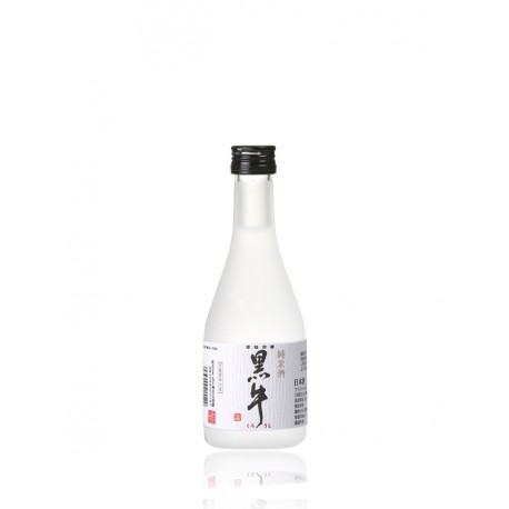 bottle of Japanese sake Kuroushi format 30cl