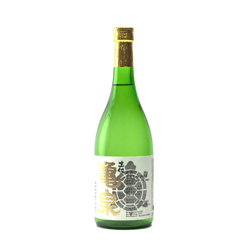 bouteille de saké japonais kameizumi junmai daiginjo 72cl