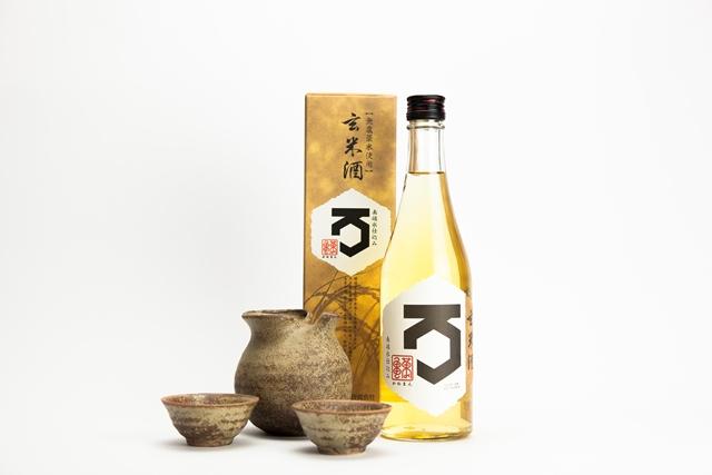 Composition saké Kameman et accessoires