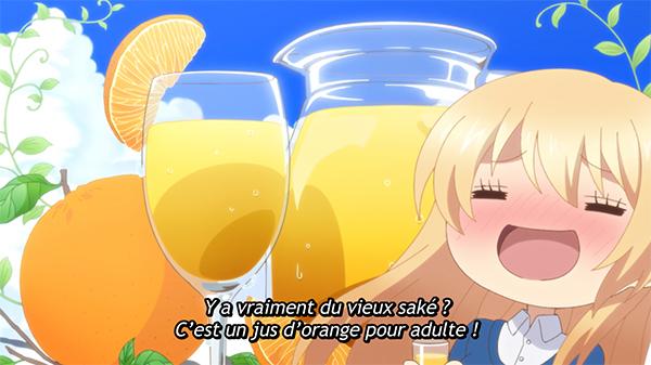 Saké japonais dans le manga Love is like a cocktail