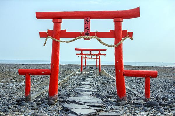 Sakés de Saga, Kaichu Tori, portes immergées