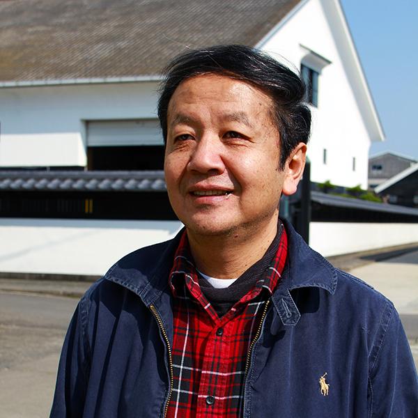 Heiji Setou, proprietaire de la brasserie de saké japonais de Setou Shuzo