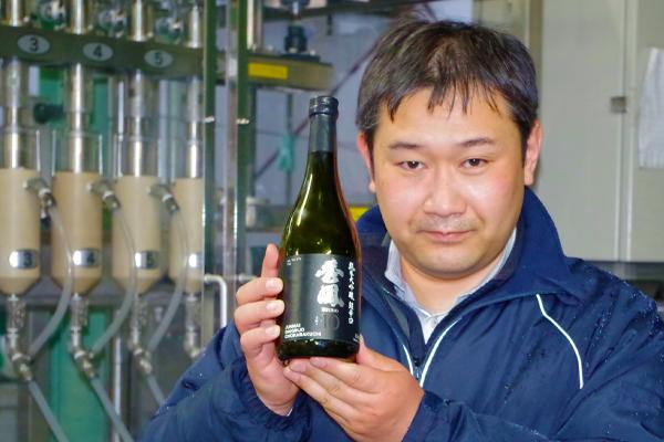 M Takeda a repris la brasserie familiale il y a 6 ans.