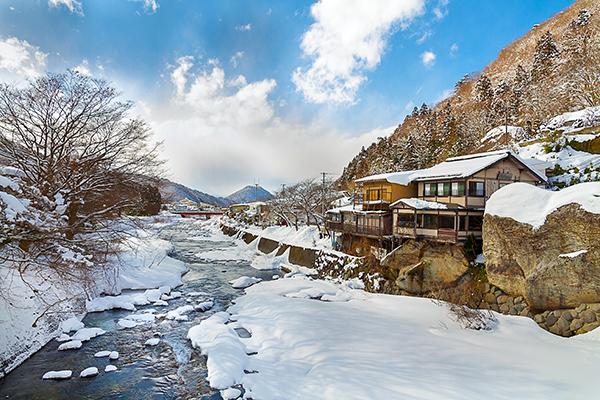 Les onsens de Yamadera dans la préfecture de Yamagata