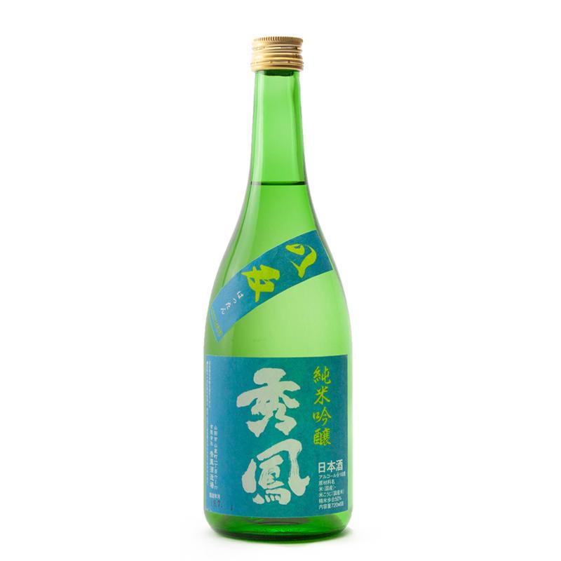 Bouteille de saké japonais Shuho Junmaï Ginjo Hattan