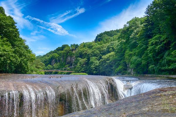 les rivieres dans le village de Kawaba, Préfecure de Gunma, Japon
