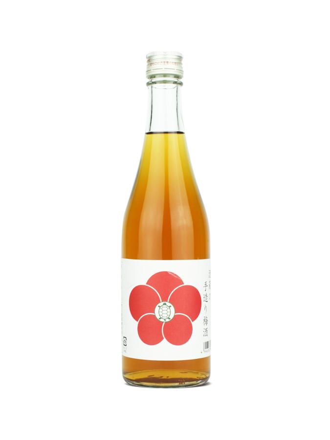 Bouteille de liqueur de prune japonaise Kameman Umeshu