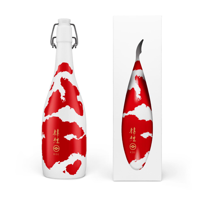 Bouteille de saké japonais Koi 72cl
