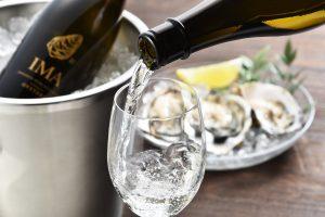 Bouteille de saké japonais Imayo Tsukasa Oyster format 72cl