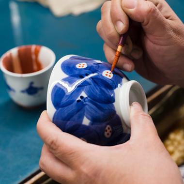 Atelier de porcelaine japonaise Kihara