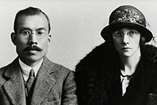 M Taketsuru and Rita, founder of Nikka Whisky