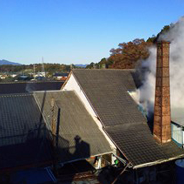 Brasserie de saké de Shiragiku Shuzo, Préfecture de Ibaraki, Japon