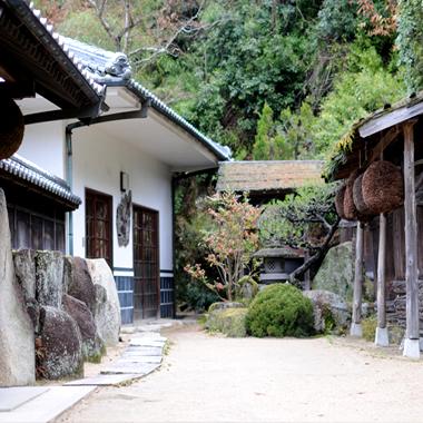 Brasserie de saké japonais Toshimori Shuzo à Okayama